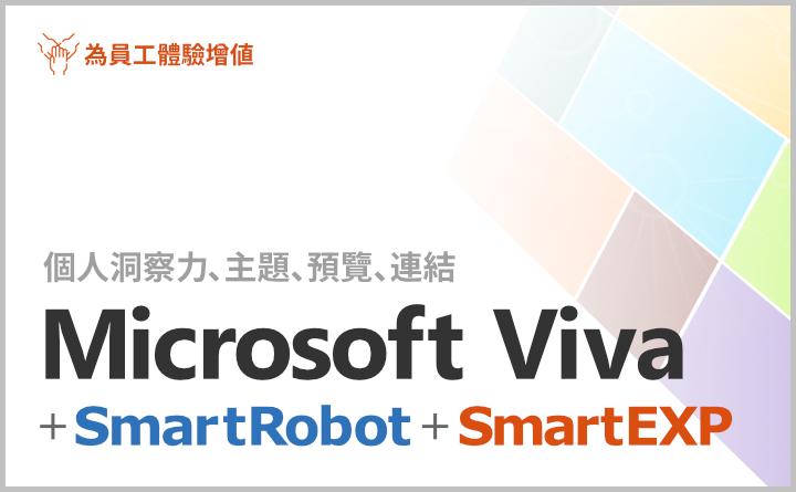 Microsoft Viva + SmartRobot + SmartEXP